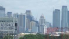 フィリピンの高層ビル群